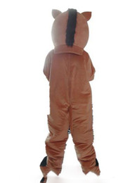 $enCountryForm.capitalKeyWord UK - 2019 High quality hot a brown boar mascot costume with big nose for adult to wear