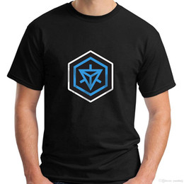$enCountryForm.capitalKeyWord Australia - New Resistance Hexagon Logo Short Sleeve Black Men's T-Shirt S-5XL
