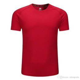 Wholesale Men Polo short sleeved tennis shirts quick dry Sport clothes Kit Badminton shirt for outdoor Soccer Running t-shirt Sportswea-41
