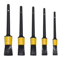 $enCountryForm.capitalKeyWord Australia - Auto Detailing Brush Set, Car Cleaner Brush Set for Cleaning Wheels,Boar Hair Car Interior Wash Detailing for Motorcycle A