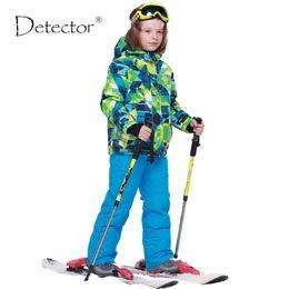 $enCountryForm.capitalKeyWord Australia - Detector Boys Ski Sets Winter Waterproof Windproof Kids Ski Jacket Children Outdoor Warm Hooded Snowboard Sports Suits