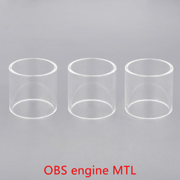 $enCountryForm.capitalKeyWord NZ - Wholesale OBS engine MTL Replacement Glass Tube With DHL Free Shipping buy cheap OBS engine MTL Tank Glass tube