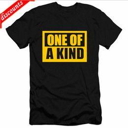 Kpop gd online shopping - 2018 Latest Fashion KPOP G Dragon GD One Of A Kind T Shirts Men Hip hop Cotton Casual T shirts Fashion Tee