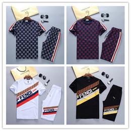 Geometric Suit Australia - New brand Tracksuit Jackets Set Fashion Running Tracksuits Men Sports Suit Letter printing Slim Hoodies Clothing Track Kit Medusa Sportswear