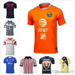 75fc828b120 LIGA MX Club America soccer Jerseys home away 18 19 LEON CRUZ AZUL Tigres  NECAXA PACHUCA football shirts ATLAS