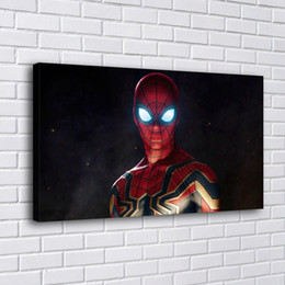 spiderman painting Australia - Spiderman Avengers,Home Decor HD Printed Modern Art Painting on Canvas (Unframed Framed)