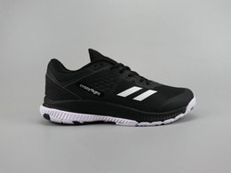 Spring Bounce Shoes Canada - Best athletic crazy flight bounce 2.0 black white running shoes men trainers navy blue and red colors shoe