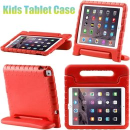 eva foam cover NZ - For Samsung Galaxy Tab 530 T560 Case Shockproof EVA Foam Protective Cover For Samsung T330 T550 Cute Kids Tabket Stand Cases