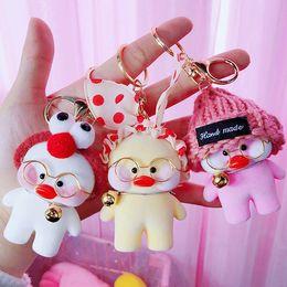 $enCountryForm.capitalKeyWord Australia - Fashion Keychains Cute Key Cartoon anime Chain Ring Anime Keychain Creative Trinket Charm Women Girl Kids Keyring