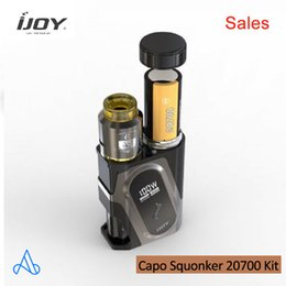 $enCountryForm.capitalKeyWord Australia - Clearance Ijoy Capo 100w 20700 Squonker Kit 3000mAh has big fire button and leakproof squonk bottle & Combo RDA fit 26mm tank Capo Kit