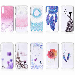 cover samsung galaxy a3 Australia - Case For Samsung Galaxy A3 A5 2016 A5 A7 2017 A6 A8 Plus 2018 A8s Transparent Pattern Back Cover Soft TPU