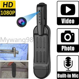 2020New Outdoor Portable Body Video Recorder DVR 1080P HD Recording Noise Reduction Multi-function Sports DV Camera Conference Office Camera on Sale