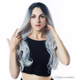 $enCountryForm.capitalKeyWord Australia - Ombre Green Straight Long Synthetic Wigs For Women Wigs Color can be Cosplay Wigs I's a wig