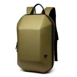 $enCountryForm.capitalKeyWord NZ - Anti Theft Backpack Hard Shell Backpack Men Travel Bag Black Creative Alien Casual Laptop Teenage School Boy Waterproof