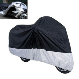 Nylon Coating Australia - Freeshipping Size L motorcycle cover waterproof Outdoor Bike Motorcycle Scooter Rain Coat UV Protective Dust Prevention Dustproof Covering
