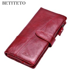 $enCountryForm.capitalKeyWord Australia - Betiteto Brand Rfid Genuine Leather Coin Purse Women Wallet Female Carteras Handy Clutch Portomonee Partmone Phone Bag Cuzdan