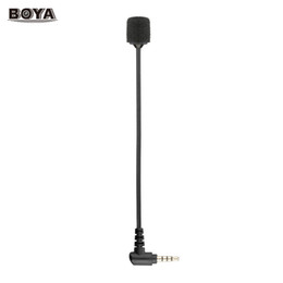 $enCountryForm.capitalKeyWord Australia - BOYA BY-UM4 Portable Omni-directional Condenser Microphone Mic Mini Flexible Microphone w  3.5mm TRRS Connector for iOS Android