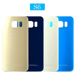$enCountryForm.capitalKeyWord Australia - For Samsung Galaxy S6 Back Battery Door Rear Housing Cover Case S6 edge Battery Cover No Lens