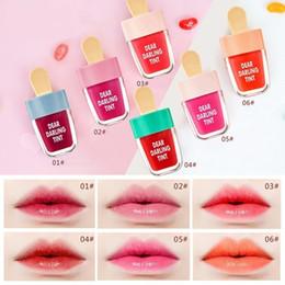 $enCountryForm.capitalKeyWord NZ - Makeup Lovely Ice Cream Lipgloss Waterproof Liquid Matte Lipstick Long Lasting Tattoo Lip Gloss Moisturizing Waterproof Lipstick