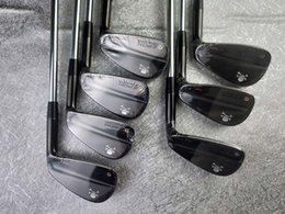 Paintings Free Delivery Australia - New Golf Club TOUR MB Black Irons 7 piece Suits White Paint 4-9,P Loft With Head Cover Free Delivery