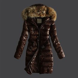$enCountryForm.capitalKeyWord Australia - Hot sale France brand Fashion Hooded Parkas Ladies Long Winter Coat Women Ultra Parka Jacket Down Womens Hooded Parka Female Puffer Coats