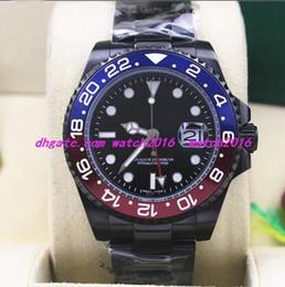 $enCountryForm.capitalKeyWord Australia - 7 Style Luxury Wristwatch Stainless Steel Bracelet PVD Coating Ceramic Black Dial 116610 114060 116619 116618 40MM Mechanical Men Watches