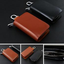 9e5094645 THINKTHENDO Fashion Portable Car Key Chain Ring Mini Wallet Keychain Case Coin  Holder Zipped Bag Purse Pouch New Hot