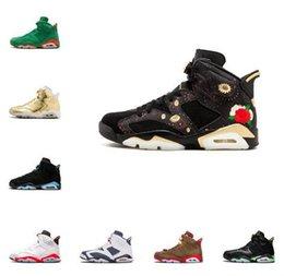 men basketball shoes toro red 2019 - High Quality 6 Designer 6s Black Infrared 3M Reflect Carmine UNC Basketball Shoes Men Toro Hare Oreo Maroon Tinker Low C