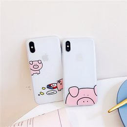 Elements Iphone Cases Australia - Pig chemical element TPU the transparent cellular phone protect hull for iphone 6-MAX