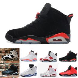 2eea44fbc58 NIKE Air Jordan 6 Retro 2018 6S CNY Año Nuevo chino hombres zapatos de  baloncesto mejor calidad descuento al por mayor 6 tamaño eur 41-47 envío  gratis con ...