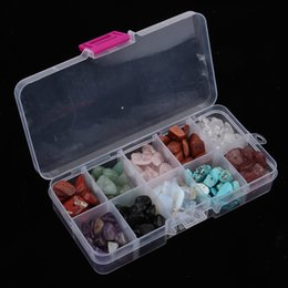 Natural Chips Beads Gemstone Beads for Jewelry Making With Plastic Jewelry Box