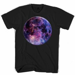Discount galaxy round - Moon Round Mouse Pad Galaxy Men's   Women's T ShirtFunny free shipping Unisex Casual Tshirt top