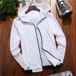 mens casual jackets for spring Canada - New Spring Autumn Brand Mens Designer Jackets and Fashion Casual Long Sleeve Natural Color for Sports Windbreaker with Size L-5XL QSL1982610