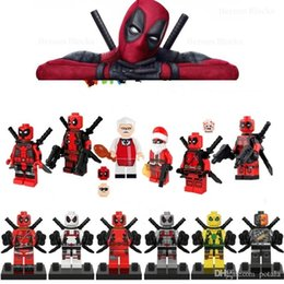 $enCountryForm.capitalKeyWord Australia - Deadpools Building Blocks Super Heroes Bricks Puzzles Deathstroke Figure Avenger Super Heroes Batman hulk spiderman ironman superman flash