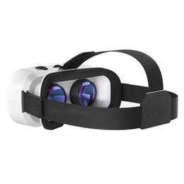 Smart 3D Glasses Movie Game Head Mount Virtual Reality Glasses 300 Inches Display For MP3 AVI WMA For Children & Adults on Sale