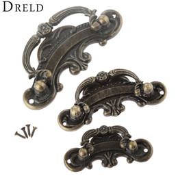 $enCountryForm.capitalKeyWord Australia - cabinet knobs and DRELD Antique Furniture Handle Vintage Drawer Cabinets Knobs and Door Cupboard Handles Kitchen Pull Furniture Fittings