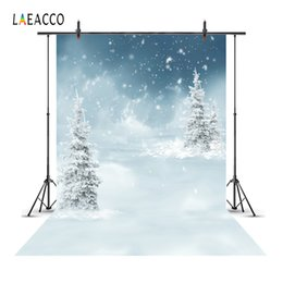 photography backdrops fantasy 2019 - Laeacco Fantasy Winter Snow Trees Scenic Baby Photo Backgrounds Customized Photography Backdrops For Photo Studio cheap