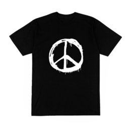 $enCountryForm.capitalKeyWord NZ - T-shirt signe Peace and love amour guerre vietnam hippie chic combat mode france Funny free shipping Unisex Casual top