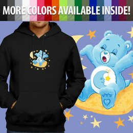 $enCountryForm.capitalKeyWord Australia - Care Bears Bedtime Bear SWholesalepy Moon Stars Bed Pullover Sweatshirt Hoodie Sweater