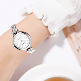 Small Round Clocks Australia - Female watch 2019 Simple Casual Fashion Round Dial Small And Exquisite Female Bracelet Watch Wristwatch Clock Gift Dropship@5