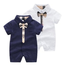 Wild Child Clothing NZ - Retail Fashion wild Infant boys girls rompers New Children pajamas baby rompers newborn baby clothes Short Sleeve Jumpsuit
