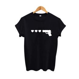 $enCountryForm.capitalKeyWord UK - Women's Tee Gun Rose Ringer Funny T Shirts Tumblr Hipster Graphic Tees Harajuku Women T-shirt Summer Fashion Tops Tee Shirt Femme