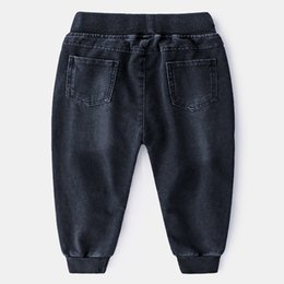 Soft Jeans Australia - DHgate New Spring Boy Knitted Water-washed Soft Jeans Wholesale From Chinese Suppliers