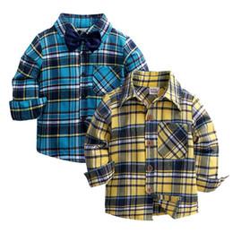 b6ddafca18d4f Old fashiOn clOthes fOr kids online shopping - New Autumn Children Boys  Shirts Fashion Plaid Mandarin