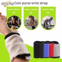 Wrist Phone Cases For Running Australia - KISSCASE Sports Running Armband Bag Case Cover Running armband for Cable Key Outdoor Sport Phone Arm Phone bag Pouch Wrist Band