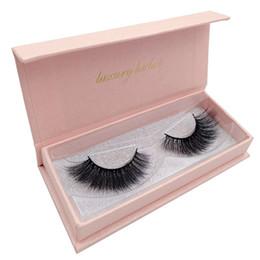$enCountryForm.capitalKeyWord UK - Hot sale 2 pairs box False Eyelashes 3D Mink Lashes Pink Box Thick Makeup Eyelashes For Eyelash Extension DHL free ship