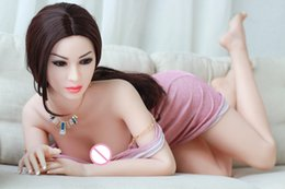 Real doll sex toy online shopping - Real Silicone Sex Dolls for Men Realistic Big Breast Masturbator Vagina Pussy Adult Sexy Toys Metal Skeleton Love Doll