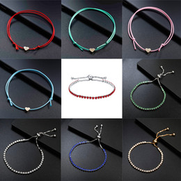 $enCountryForm.capitalKeyWord NZ - Wire Rope Chain Bracelets For Girls Minimalist Jewelry Simple Handmade Korean Style Small Gold Love Heart Charm Bracelets Gifts