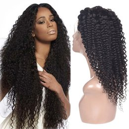 $enCountryForm.capitalKeyWord Australia - Top Afro Kinky Curly Lace Front Wig 10-22 Inch Pre Plucked With Baby Hair Brazilian Human Hair Wig For Black Women Free Shipping