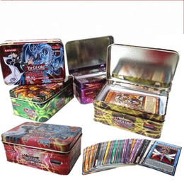 $enCountryForm.capitalKeyWord Australia - YU GI OH Cards English 41 Pcs Paper Trading Card Games Child Game For Playing With Metal Storage Box 5 5yca E1